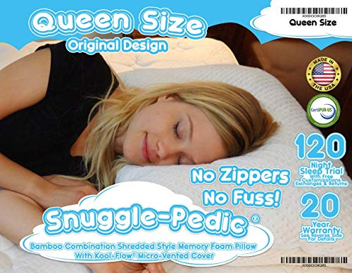 Buy memory foam pillow for back sleepers