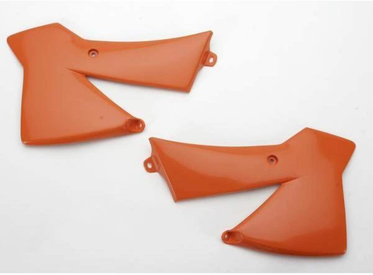 UFO KT03022126 Replacement Plastic RAD CVRS KTM 93-7 Orange