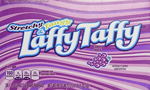 Amazoncom Laffy Taffy Grape 2415oz Bars Grocery Gourmet Food