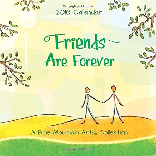 2018 Calendar: Friends Are Forever, 7.5