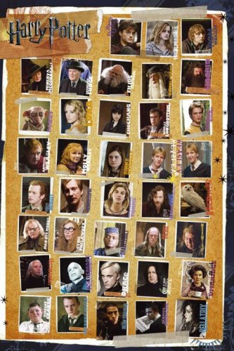 Harry Potter - Part 1-7 - Movie Poster