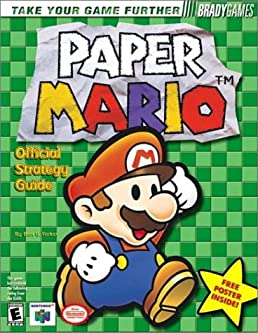 paper mario official strategy guide bradygames strategy guides rh amazon com Paper Mario 64 Game Guide paper mario thousand year door guide book