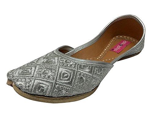 Step n Style , Damen Sandalen silber silber