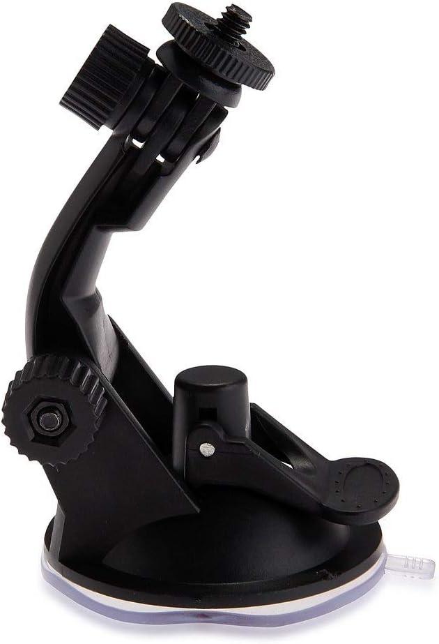 CHUN-Accessory Suction Automotive Car Mount Holder for Hero Camera 1//4black