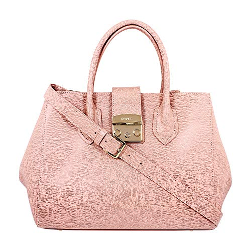 Furla Women's Metropolis Medium Tote, Moonstone, Pink, One Size