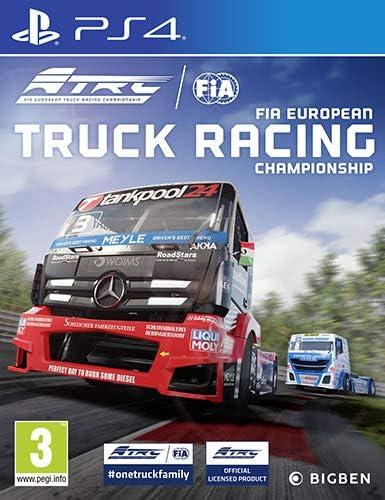 Fia European Truck Racing - Classics - PlayStation 4 [Importación ...