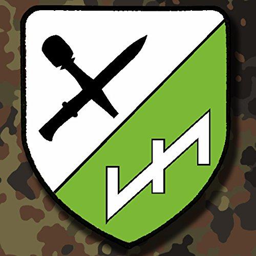 PzGrenBtl 32 Panzergrenadier Bataillon Bundeswehr BW Wappen #5123 Patch Aufn/äher