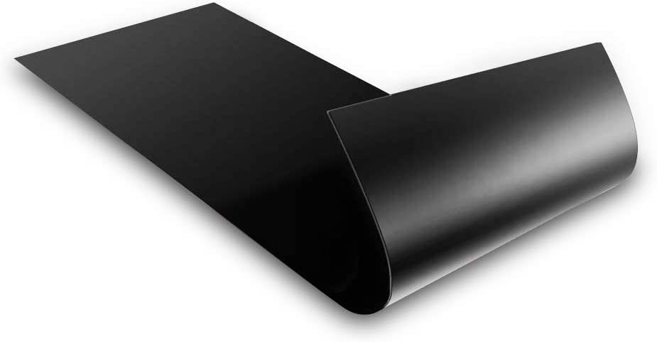 Blank Black Magnet for Car - Blank Magnet to Design Custom Magnets - Magnet Decals for Cars, Trucks, Busses & More! Magnetic Bumper Decal - Super Strong Magnets Long Lasting!(1, 4 x 12 Inches)
