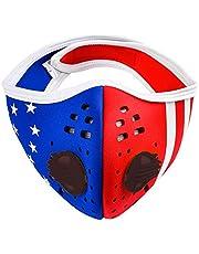 Anti-stof masker Unisex Training Smog Gezichtsmasker Running Stoffilter Cover Maskers Fietsen Fiets MFAZ Morefaz Ltd