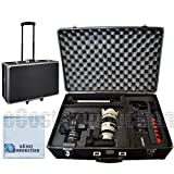 eCost 1 Hard Camera Equipment Case, Fits Lenses and More for Samsung NX2000, NX300, Galaxy NX Plus Microfiber Cloth, X-Large