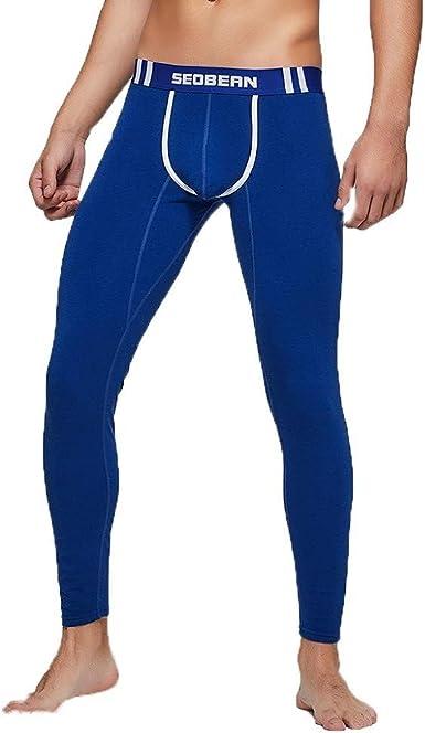 Leggings Largos Para Hombre Pantalones De Algodon Elasticos Casual Polainas Comodo Leggins Hombres Nuevo Otono Invierno Sexy Color Solido Ajustado Pantalon Termico Amazon Es Ropa Y Accesorios