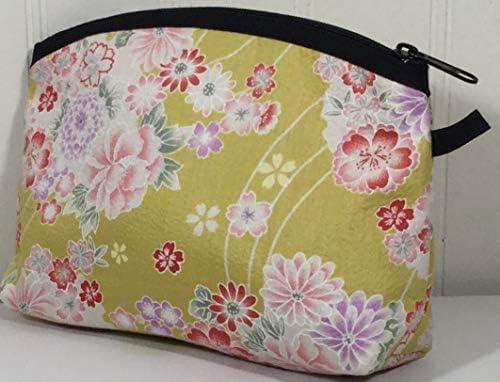 Amazon.com: Handmade-in-Japan Kimono - Bolsa de maquillaje ...