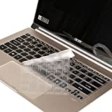 Leze - Ultra Thin Soft TPU Keyboard Protector Skin Cover for Acer Swift 7, Spin 7 Full HD Laptop US Layout