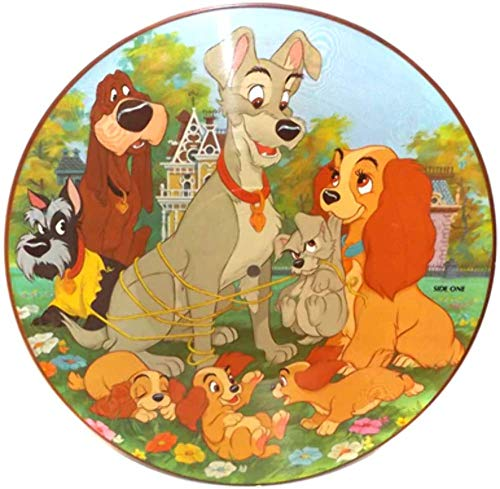 - Vintage 1981 Walt Disney Productions Lady and the Tramp Picture Disc LP Record