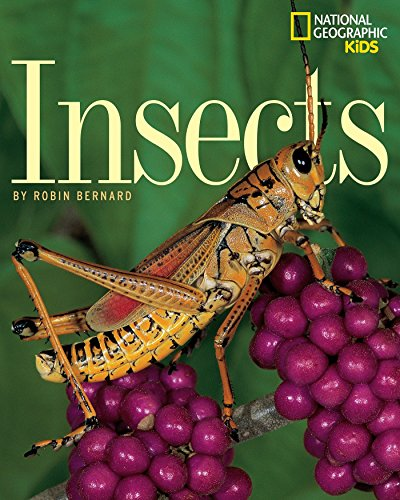 Did you know that insects are the only animals in the world with six legs? Or that other than birds and bats, they are the only animals that can fly? Learn these and other fascinating facts about what makes an insect an insect in this engrossing book...