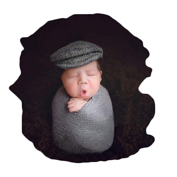 Amazon.com: Bebé recién nacido Foto Atrezzo sombrero gorra ...
