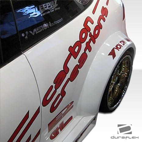 2006 - 2009 Volkswagen Golf GTI conejo 2DR DuraFlex circuito de ancho cuerpo trasero Fender Flares - 2 piezas: Amazon.es: Coche y moto