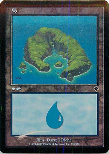 マジックザギャザリング MTG 基本土地 日本語版 島/Island INV-338 基本土地 Foil
