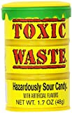 TOXIC WASTE Hazardously Sour Candy, 1.7-Ounce