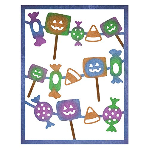 Cheery Lynn Designs B848 Halloween Candy Card Maker -