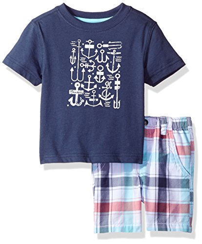 nautica-baby-boys-graphic-tee-and-plaid-short-set-ink-18-months