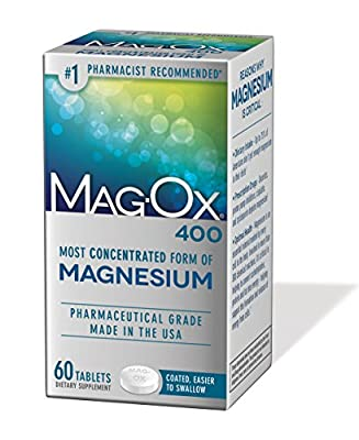 Mag-Ox 400 Magnesium Mineral Dietary Supplement Tablets