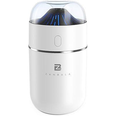 【31日まで】ZANBALA ボルケーノデザイン USB超音波式加湿器 送料込960円 2台で送料込1,720円(860円/台)【激安★超特価商店街限定】