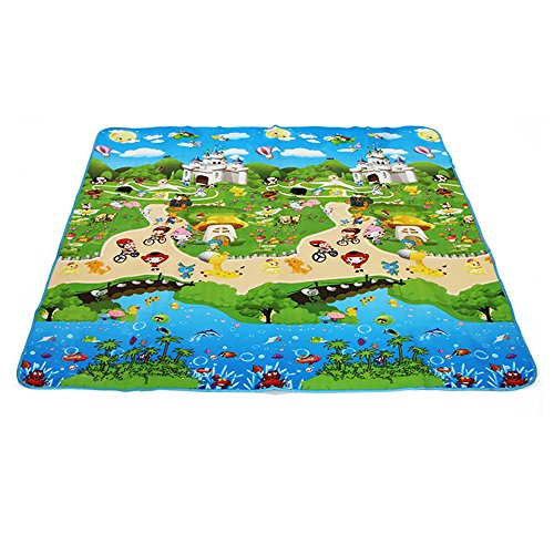 kids carpet play mat rug hebe baby kids toddlers play crawl import it all. Black Bedroom Furniture Sets. Home Design Ideas