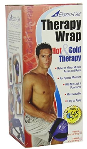 Elasto Gel, Hot/Cold Wrap, 9 X 24, (Pack of 10) by Elasto-Gel