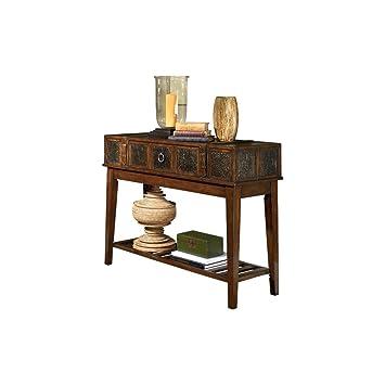 Amazon.com: Ashley Furniture Signature Design - McKenna Sofa Table ...