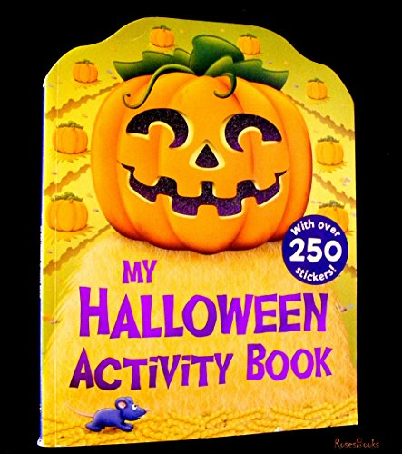 (my halloween activity book, with over 50)