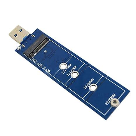 B Baosity Adaptador de SATA SSD a USB3.0 para SSD de Dimensiones ...