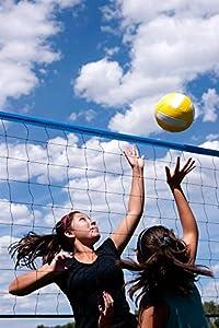 Park & Sun Sports Tournament Flex: Portable Outdoor Volleyball Net System from Park & Sun Sports