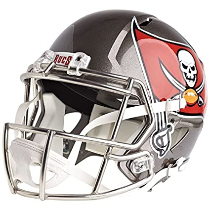 Image Unavailable. Image not available for. Color  Riddell Tampa Bay  Buccaneers Officially Licensed Speed Full Size Replica Football Helmet 5909b03db