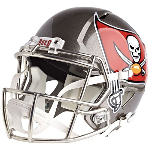 Tampa Bay Buccaneers Officially Licensed Speed Full Size Replica Football Helmet by Riddell