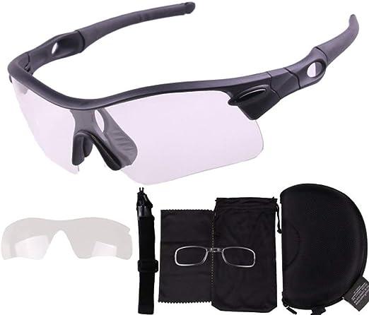 Gafas de Ciclismo Para Bicicleta Lentes transparentes Color ...