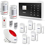 KERUI 8219G Wireless 3G Home Smart Security Alarm System WCDMA PSTN DIY Kit - Auto Dial APP Remote Control+Wireless Loud Flashing Siren