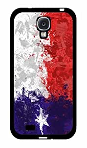 Hand Painted Texas Flag - 2 Piece Dual Layer High Impact Phone Case Back Cover (Galaxy S4)