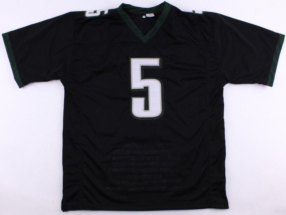 Donovan McNabb Signed Eagles Career Highlight Stat Jersey (JSA ...