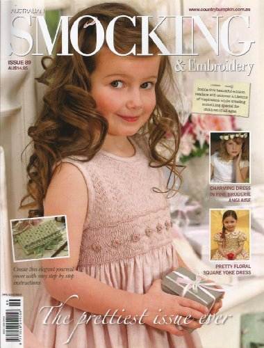(Australian Smocking and Embroidery Magazine Issue 89)
