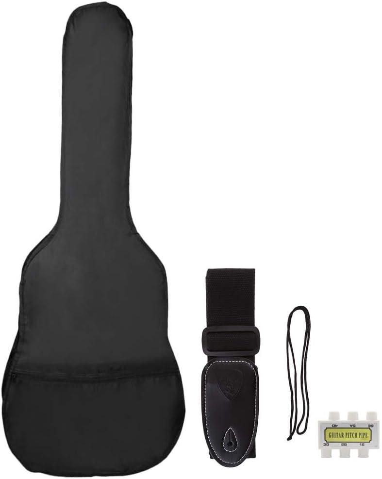 YIJU38 인치 가방 피치 파이프 기타 스트랩 포크   클래식   일렉트릭 기타
