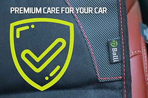 Baby Car Seat Protector with Thickest Padding - Premium Carseat Seat Protectors - Carseat Auto Cover - Seat Protector Under Car Seat - Car Seat Guardian - Leather Car Seat Mat - Booster Seat Protector by Balli (Image #6)
