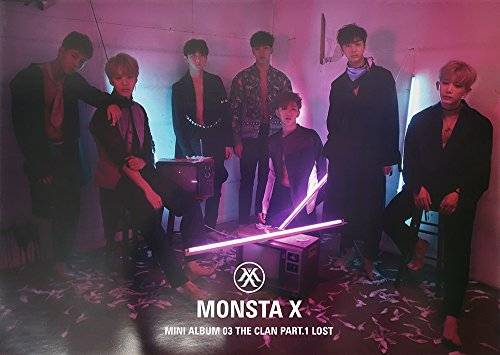 Monsta X - The Clan 2.5 Part.1 Lost 3rd Mini Album Lost ver. Official
