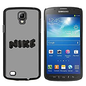 LECELL--Funda protectora / Cubierta / Piel For Samsung Galaxy S4 Active i9295 -- Logotipo divertido --