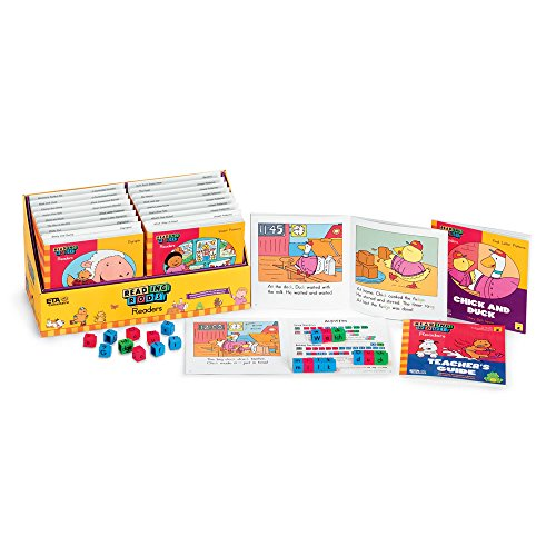 ETA hand2mind Reading Rods Linking Cubes Library - Phonics Foundation 2 (Reading Rods Readers)