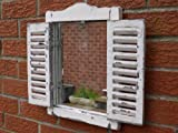 Simple Shutter Mirror by Garden Sculptures & Ornaments