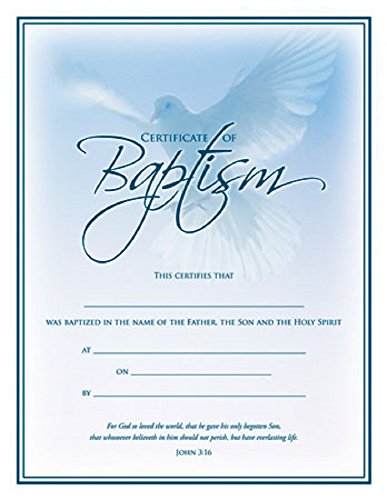 Baptism Certificate - 4