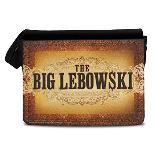 Licenza Ufficiale Big Lebowski Rug Borsa Messaggero, Borsa Tracolla