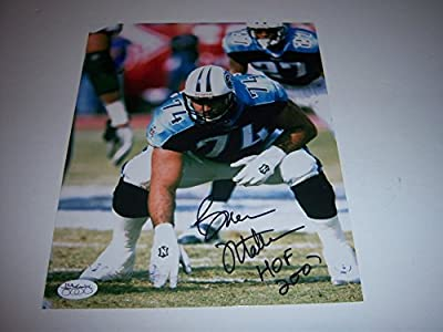 Bruce Matthews Tennessee Titans HOF JSA/Holo Signed 8x10 Photo - Authentic Signed Autograph