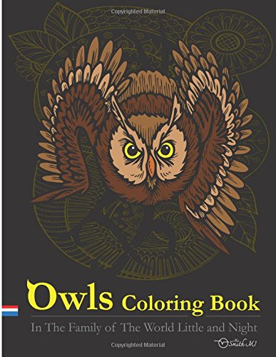 Download Owls Coloring Book : In The Family of The World Little and Night: This Owls Coloring Books Special Illustrater Printed for Adult. ebook